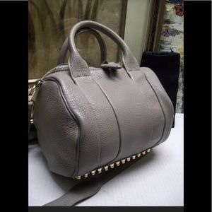ALEXANDER WANG Rockie PebbledLeather Crossbody Bag